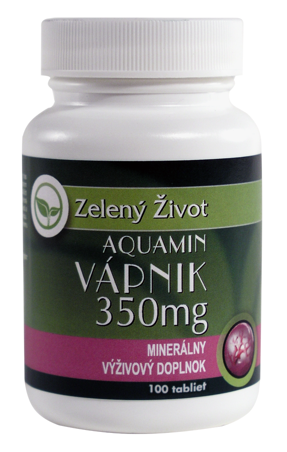 Aquamin – Vápnik 350mg 100 tabliet - Benevit